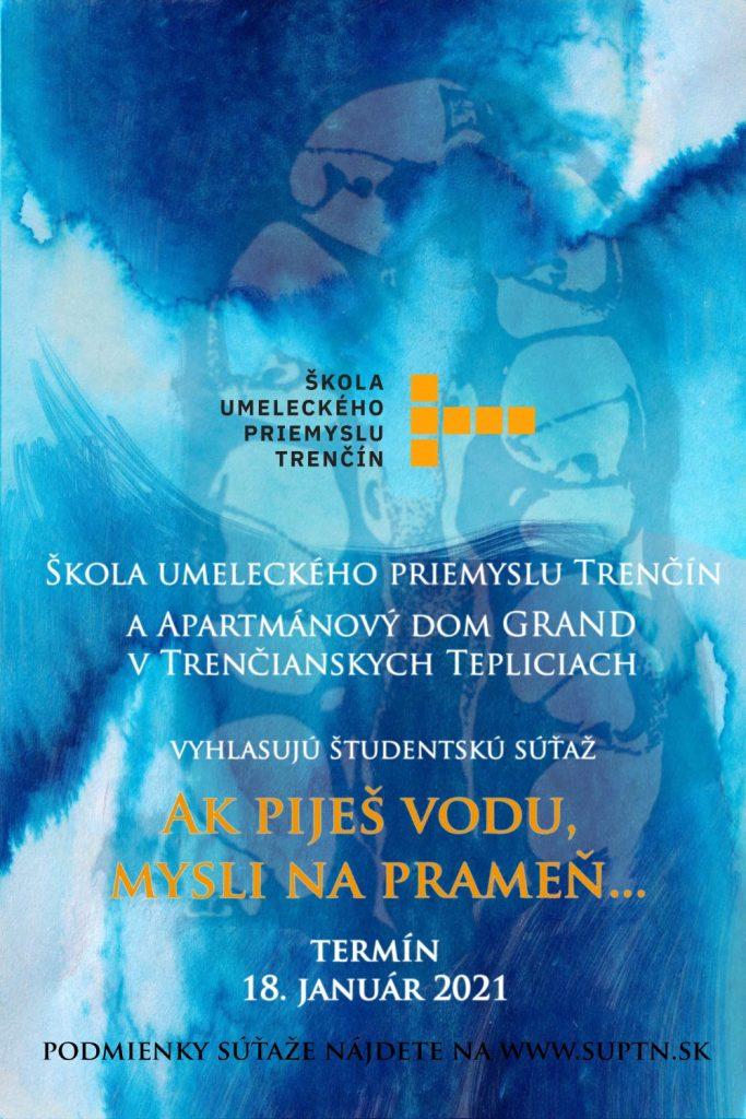 Plagát Súťaž Prameň